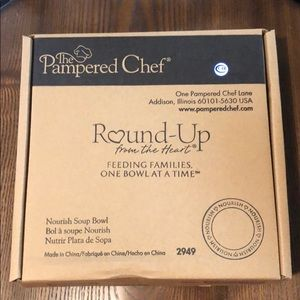 Pampered Chef 2014 Nourish Soup Bowl
